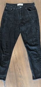 Reformation Jeans Dark Gray Sz 28